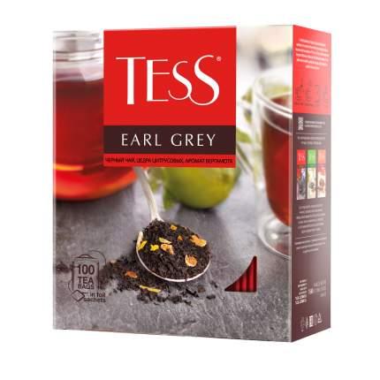 Чай черный Tess Earl Grey 100 пакетиков