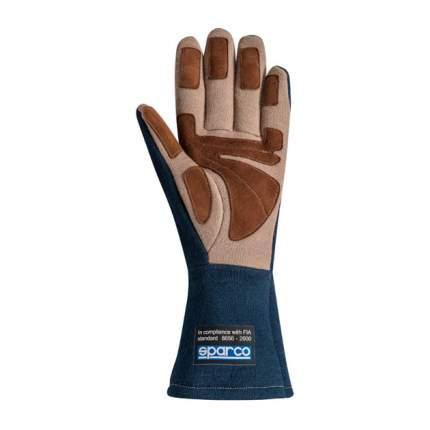 Перчатки для автоспорта Sparco FIA LAND CLASSIC, винтаж, синий, р-р 09 00130409BM