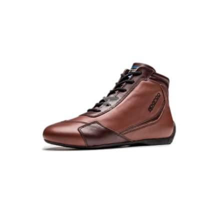 Ботинки для автоспорта Sparco SLALOM RB-3 CLASSIC FIA винтаж, коричневый р-р 43 00123943MA