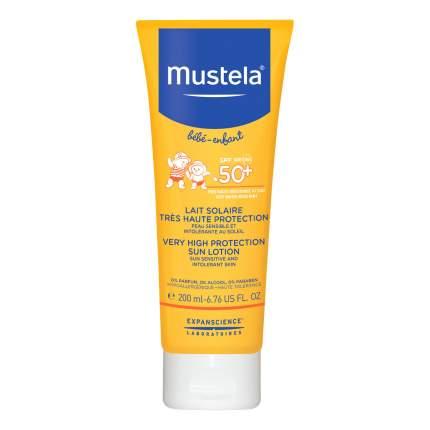 Солнцезащитное средство для детей MUSTELA Sun SPF 50+ 200 мл