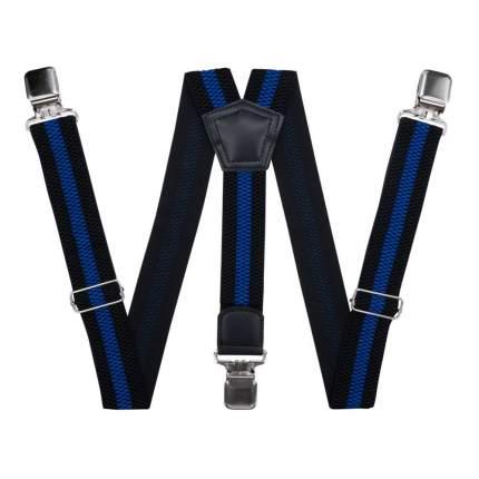 Подтяжки для брюк большого размера черные 56200