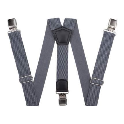 Подтяжки для брюк большого размера серые 56199