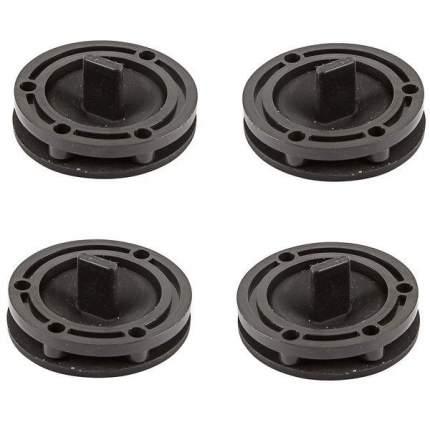 Резиновые датчики для электроплат (магнитный грибок с пластиковым кольцом, комплект 4шт)