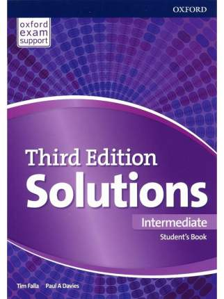Solutions Intermediate Students Book: Leading the Way to Success