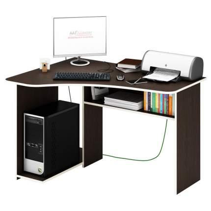 Компьютерный стол MFMaster Триан-1 МСТ-УСТ-01-ВМ-16-ПР, венге