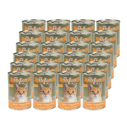 Консервы для кошек Dr. Alder's My Lady, домашняя птица, 24шт, 415г