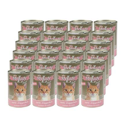 Консервы для кошек Dr. Alder's My Lady, кролик, 24шт, 415г