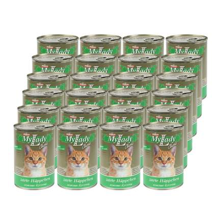 Консервы для кошек Dr. Alder's My Lady, индейка, 24шт, 415г