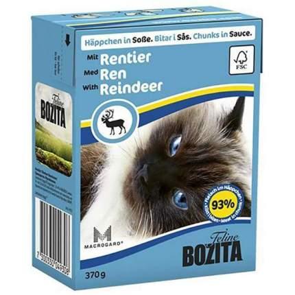 Влажный корм для кошек BOZITA, оленина, 16шт, 370г