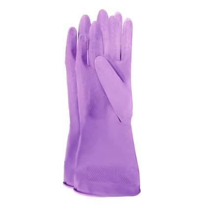 """Meine Liebe перчатки универсальные хозяйственные латексные """"Чистенот"""", размер M"""