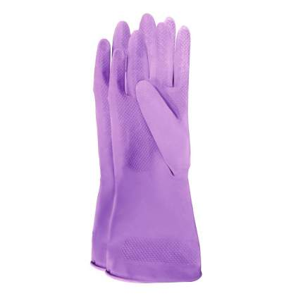 """Meine Liebe перчатки универсальные хозяйственные латексные """"Чистенот"""", размер S"""