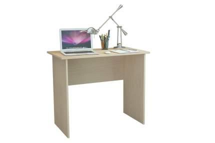 Компьютерный стол MFMaster Милан-85 МСТ-СДМ-85-ДМ-16, дуб молочный