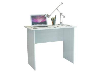 Компьютерный стол MFMaster Милан-85 МСТ-СДМ-85-БТ-16, белый