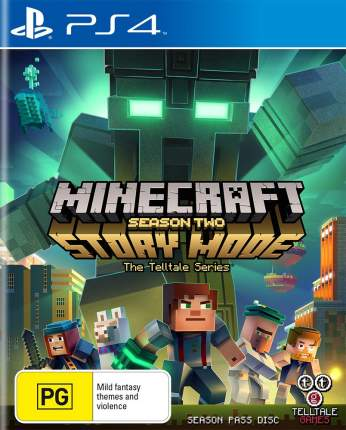 Игра Minecraft Story Mode Season Two для PlayStation 4