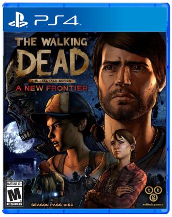Игра The Walking Dead: A New Frontier для PlayStation 4