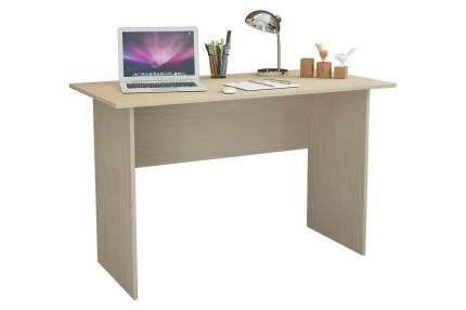 Компьютерный стол MFMaster Милан-126 МСТ-СДМ-26-ДМ-16, дуб молочный