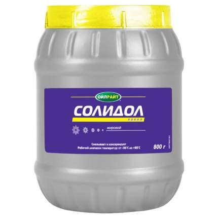 Солидол жировой OILRIGHT 6021 800 г