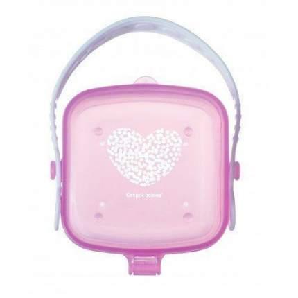Контейнер для пустышки Canpol Pastelove арт. 56/013, цвет: розовый