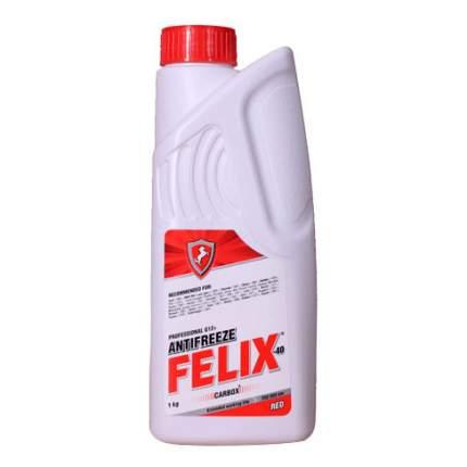 Антифриз Felix Красный Готовый антифриз 1кг