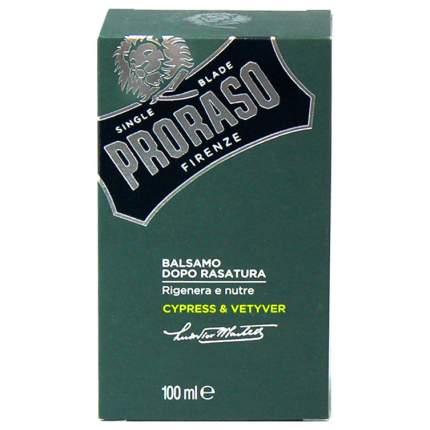Бальзам после бритья Proraso Cypress & Vetyver 100 мл