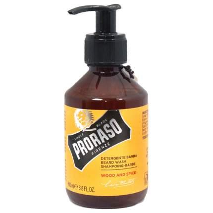 Шампунь для бороды Proraso Wood and Spice 200 мл