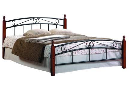Односпальная кровать АТ-8077 Гевея/Металл