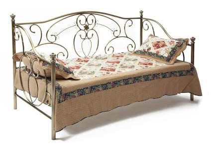 Односпальная кровать Jane Античная медь