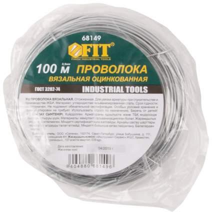 Проволока для вязки арматуры 0,9 мм x 100 м FIT 68149