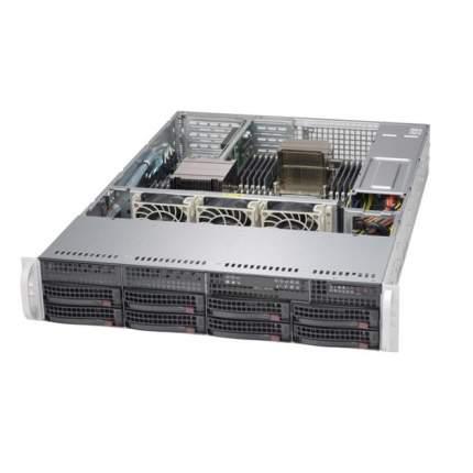 "Серверный корпус 2U 19"" RM Supermicro CSE-825TQ-600LPB E-ATX Black (600Вт)"
