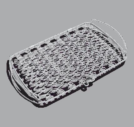 Решетка для шашлыка Weber Large Fish Basket 6471 27 х 46 см