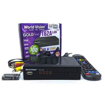 DVB-T2 приставка World Vision T62A Lan Black