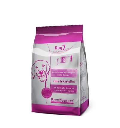 Сухой корм для собак BonaVentura Dog 7 hipo allergenic, утка и картофель, 3кг