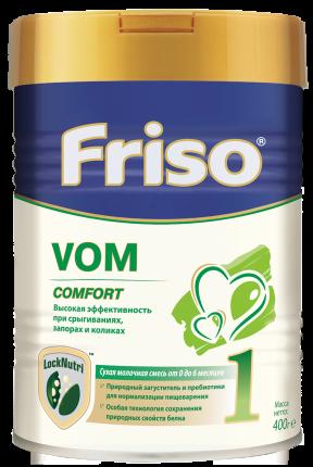 Молочная смесь Friso Vom Comfort 1 от 0 до 6 мес. 400 г
