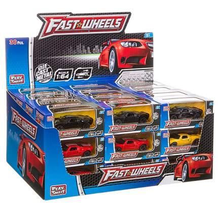 Набор металлических инерционных машин Play Smart Fast Wheels 6590W, 36 шт.