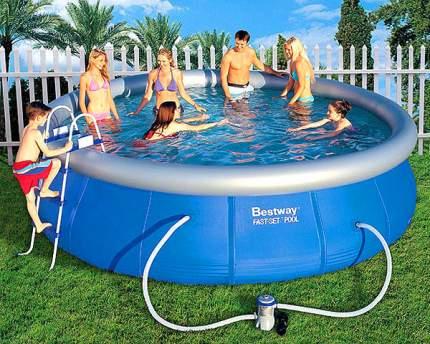 Надувной бассейн Bestway Fast Set 57127 457x457x107 см