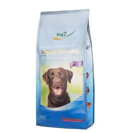 Сухой корм для собак BonaVentura Dog 7 Premium, говядина, птица, 12,5кг