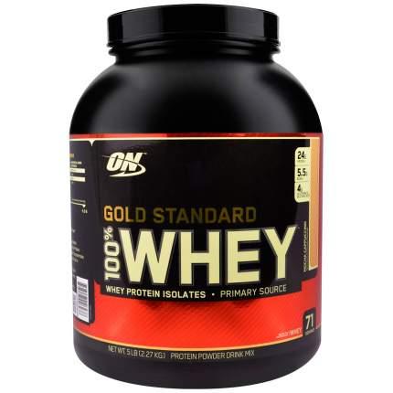 Протеин Optimum Nutrition 100% Whey Gold Standard, 2270 г, mocha cappuccino