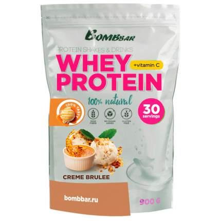 Протеин Bombbar Whey Protein, 900 г, creme brulee