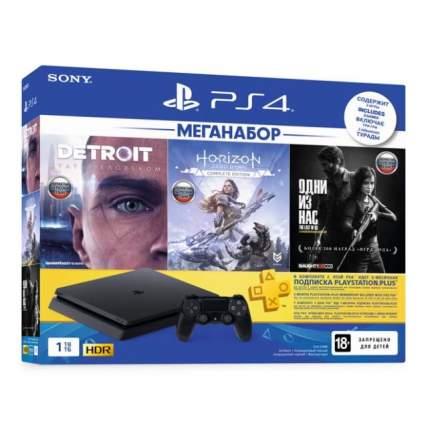 Игровая приставка PlayStation 4 1TB HZD+Detroit+TLoUS +PS+3 мес. (CUH-2208B)
