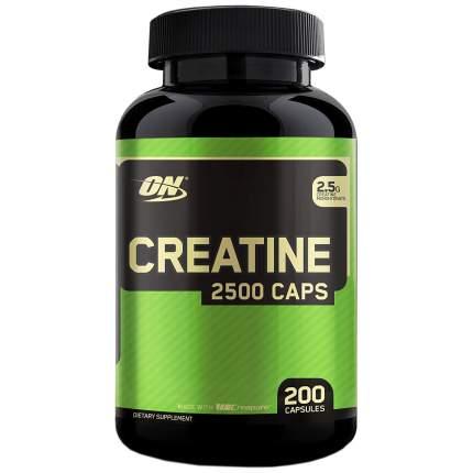 Креатин Optimum Nutrition Creatine Monohydrate 2500 Caps, 200 капсул