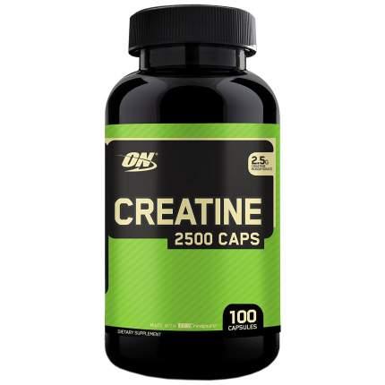 Креатин Optimum Nutrition Creatine Monohydrate 2500 Caps, 100 капсул