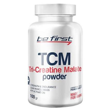 Креатин Be First Tri-Creatine Malate Powder, 100 г, без вкуса