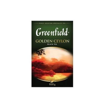 Чай черный  листовой Greenfield  Golden Ceylon 100 г