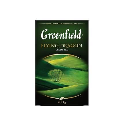 Чай зеленый листовой Greenfield Flying Dragon 200 г