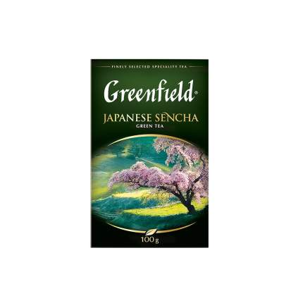 Чай зеленый  листовой Greenfield Japanese Sencha 100 г