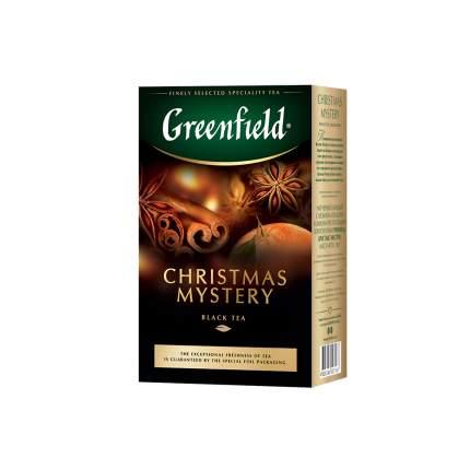 Чай черный листовой Greenfield Christmas Mistery 100 г