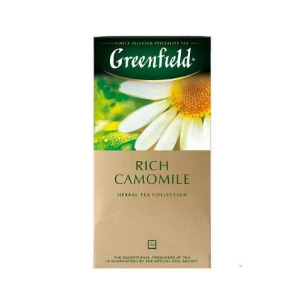 Чай травяной Greenfield Rich Camomile 25 пакетиков