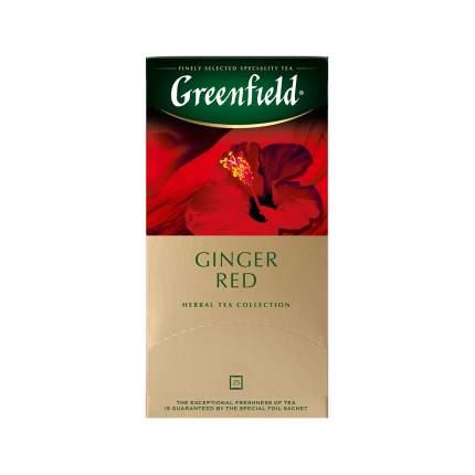 Чай травяной Greenfield Ginger Red 25 пакетиков