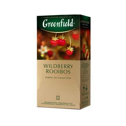 Чай травяной Greenfield Wildberry Rooibos 25 пакетиков