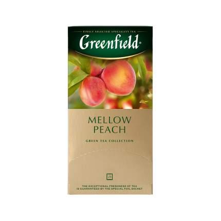 Чай зеленый Greenfield Peach Mellow 25 пакетиков